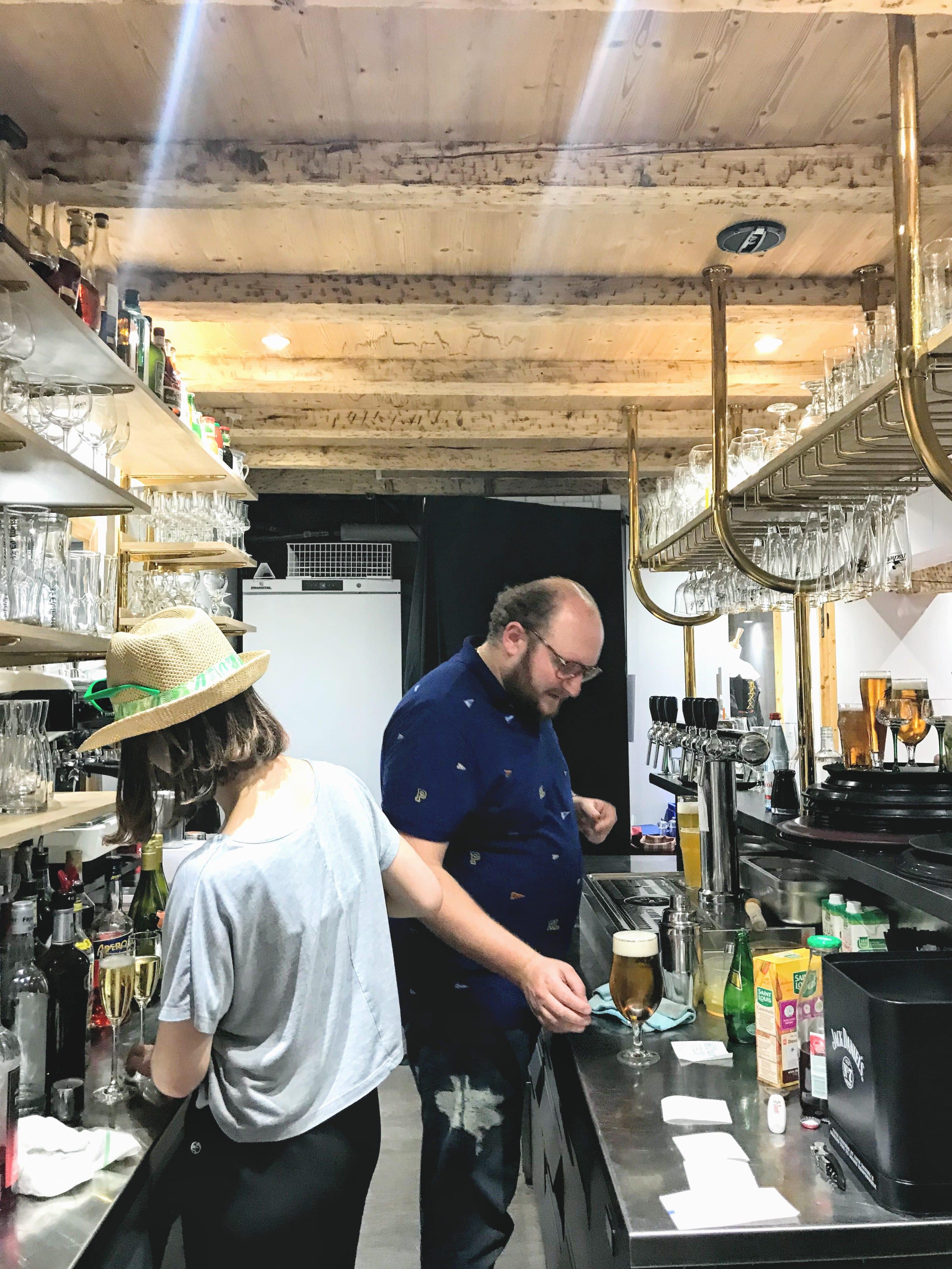 Le bar du Petit Bois Vert